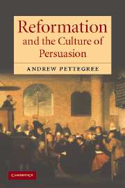 Reformation & Culture of Persuasion