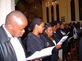 Blacks in worship